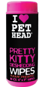 Pet Head Pretty Kitty Wipes 50pk PINEAPPLE